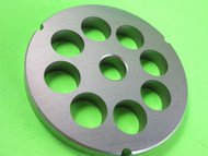 "42 x 1"" (25mm) holes Meat Grinder Plate Screen Cabelas Carnivore 1 3/4 HP"