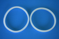 TWO Rubber Gasket Seal for VIVO, HAKKA and Smokehouse Chef Manual Sausage Stuffer 3 5 7 10 Liter LEM & others