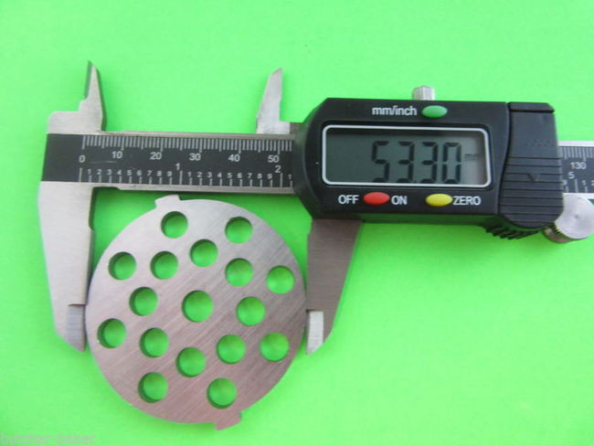 Sausage Stuffing Meat Grinder Plate Disc Die For Electric