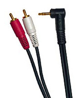 "6-Foot Stereo 1/8"" Stereo to RCA Cable"