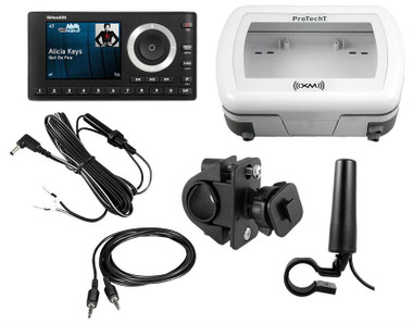 XM onyX Plus Motoryclcle installation kit with receiver