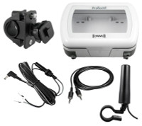 XM Radio Motorcycle Installation Kit with Waterproof Hard Case