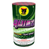 """Quiet! is a mob scene of color and action: red, purple, and green sparks, with gold pine needles and silver chrysanthemum effects. It's mayhem without the noise. Size: 7"""" H x 4"""" Ø Avg. Duration: 75 sec. Effects: 1. Red flower to white chrysanthemum and purple spark 2. Gold pine and purple spark to red spark, green spark and yellow chrysanthemum 3. Red titanium spring to red spark, green spark and white chrysanthemum"""