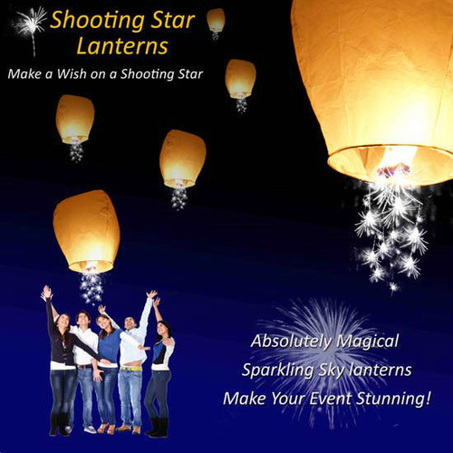 10 Pack  Color  Sky Lantern