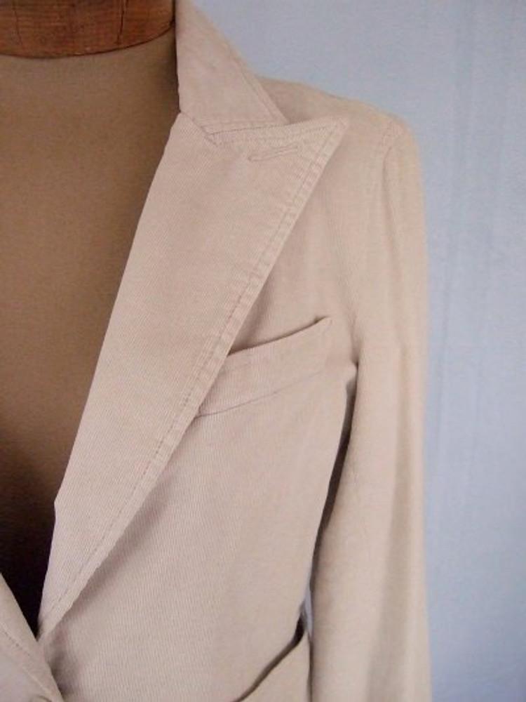 Marc Jacobs Beige Corduroy Jacket