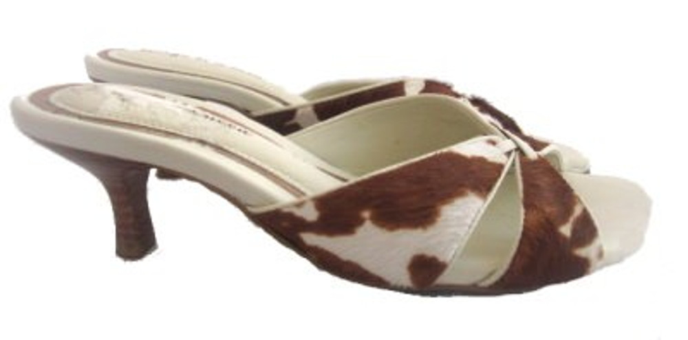 Diego di Lucca Cow Hide Slides