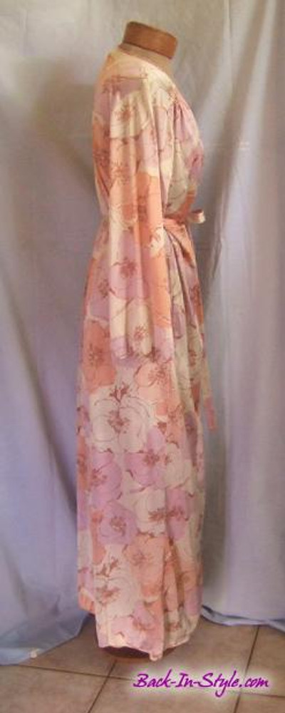 Christian Dior Floral Peignoir