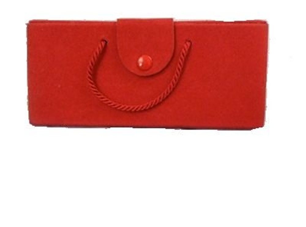 Nina Ricci Red Velvet Eye Glass Case