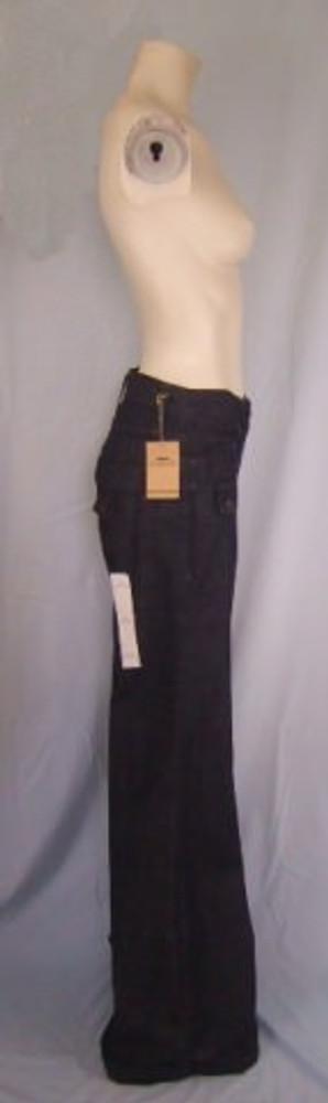 James Jeans Dry Aged Denim Wide Leg Dark Wash Jeans New!