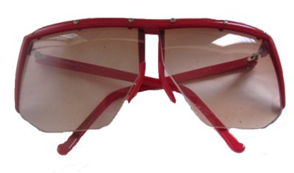 Vintage Claudio LaViola, Red Framed Sunglasses