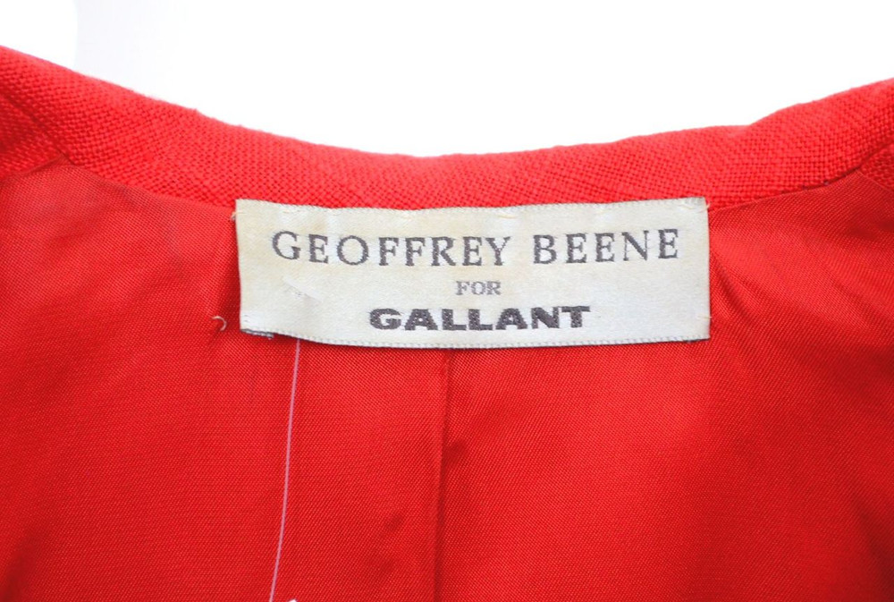 Vintage Geoffrey Beene Double Breasted Jacket