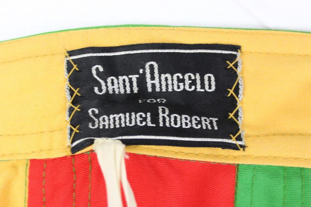 Vintage Giorgio di Sant' Angelo 1970s ColorBlock Maxi Skirt