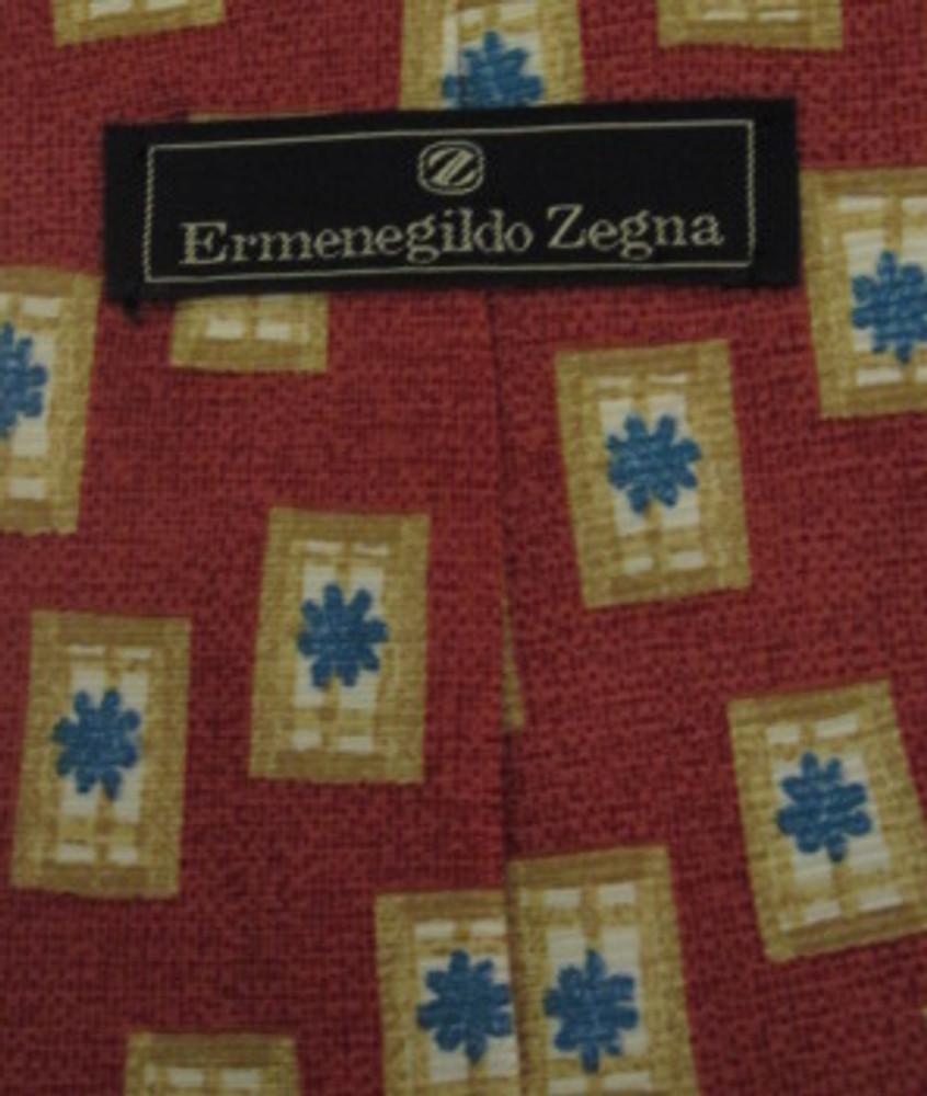 Ermenegildo Zegna Coral Tree Tie