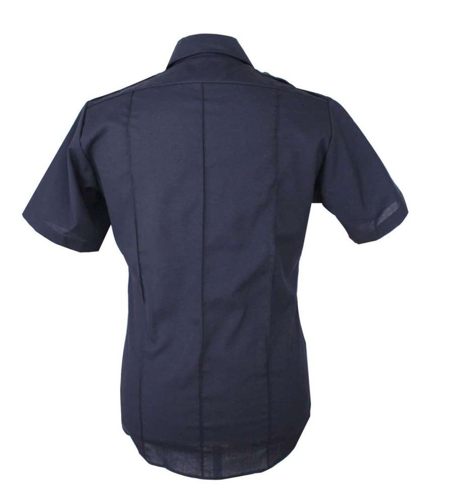 Vintage Navy Blue Military Inspired Shirt
