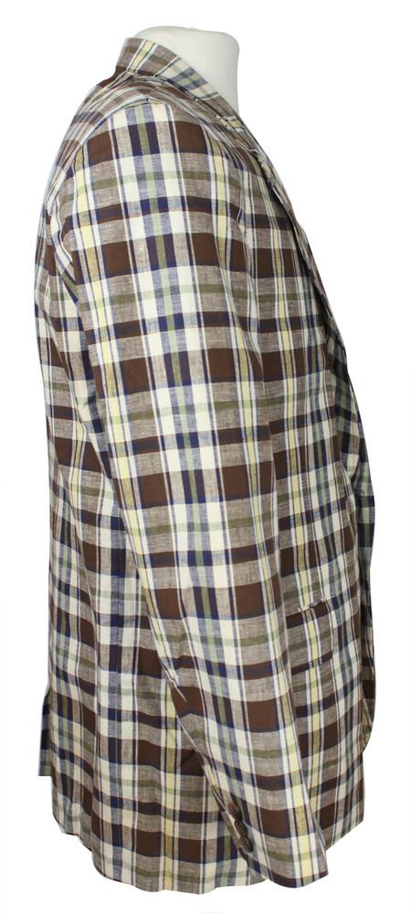 Vintage Haggar Brown Plaid Jacket