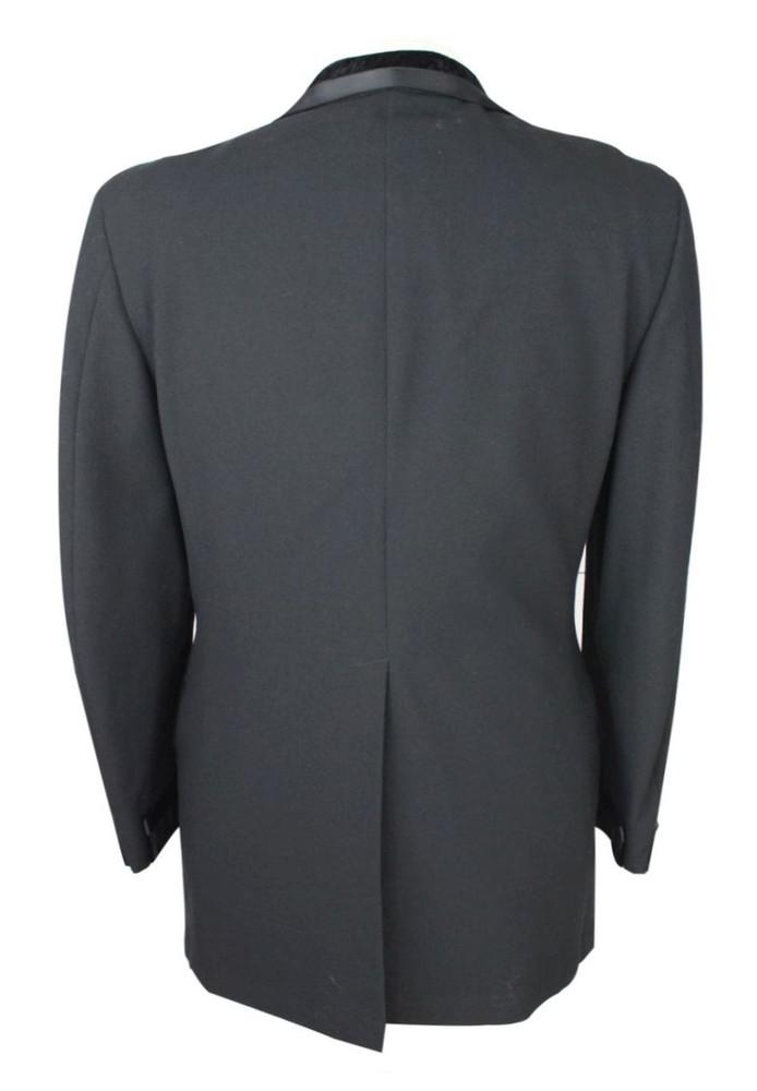 Vintage After Six Tuxedo Jacket with Velvet Lapel