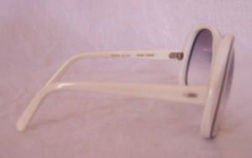 Renauld White Sunglasses