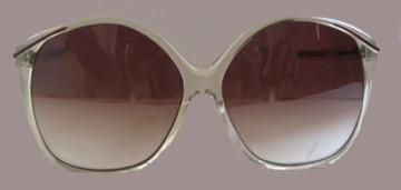 Papillon Clear Framed Sunglasses