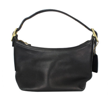 Coach Black Leather Bag