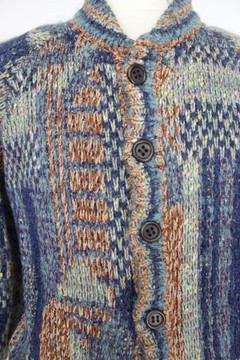 Vintage Missoni Reversible Knit Rain Jacket
