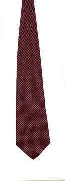 Vintage Bert Pulitzer Bordeaux Polka Dot Tie
