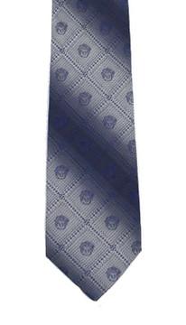 Vintage Gianni Versace Logo Printed Silk Tie