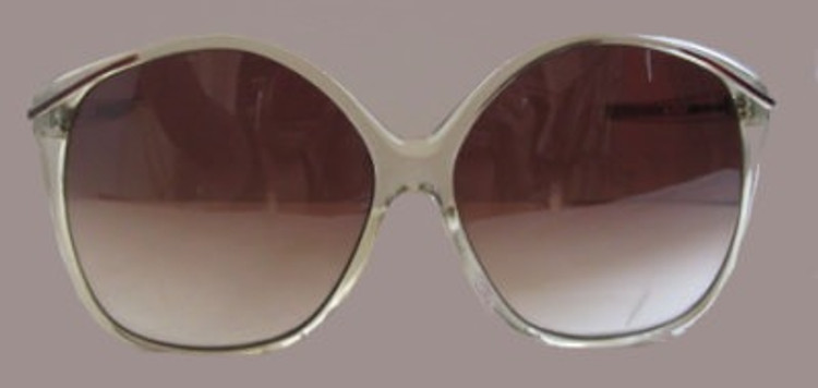 Papillon Clear Framed Sunglasses