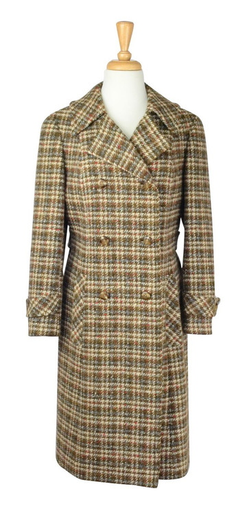 Vintage Pendleton Multi Colored Plaid Coat