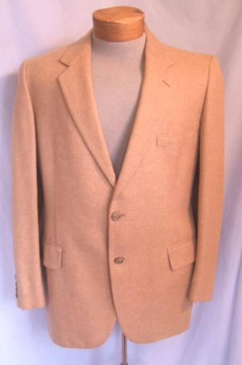 Saks Fifth Avenue tan cashmere jacket