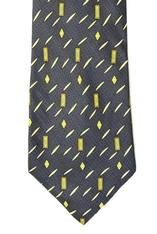 Giorgio Armani Gray Soft Abstract Silk Tie