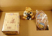 Cherished Teddies  ~  1996 CHARTER  MEMBER KIT ... R. Harrison Hartford  *  NIB