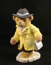 Cherished Teddies  ~   2001 MEMBERSHIP FIGURINE ... T. James Bear  *  NIB