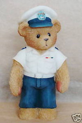 Cherished Teddies  LIFE IS SMOOTH SAILING * COAST GUARD