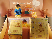 Cherished Teddies  ~   2001 CHARTER  MEMBER  KIT ... T. James Bear   *  NIB