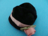 Boyd's  ~  BLACK  VELVETEEN  HAT... For Small Bear/Doll  *  NEW
