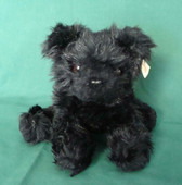 BEAR WITH US  ~  FRITZ   Floppy Black Dog  *  NWT