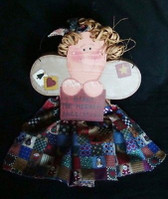 HARK THE HERALD ANGELS ... Handcrafted Angel  *  NEW From Our Retail Shop