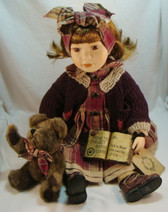 Boyd's Doll  ~  KELLY The BEAR COLLECTOR  *QVC Limited Edition*  NEW In Box