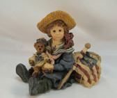 Boyd's Dollstone  ~  BETSY With EDMUND ... The Patriots * MINT Condition w/Box