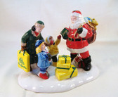 Dept. 56  ~  A VISIT With SANTA ... Limited Edition  *  NEW From Our Shop