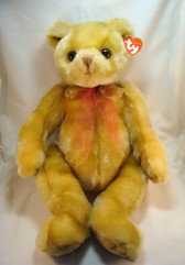 "TY Classic ... YESTERBEAR 17"" (Gold Version) Bear *  NEW From Our Retail Shop"