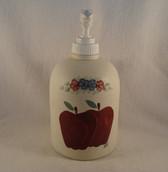 Noel  ~  LOTION/SOAP DISPENSER ... Apple Design  *  NEW From Our Shop