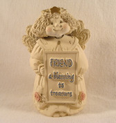 FRIEND ANGEL FIGURINE ... A Blessing To Treasure  *  MINT Condition