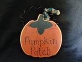 Fall Decor ... PUMPKIN PATCH WALLHANGING  *  NEW
