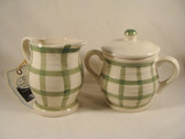 Enesco  ~  COUNTRY LIVING ... SUGAR & CREAMER  *  NEW From Our Shop