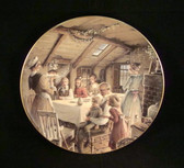 Dept 56  ~  CHRISTMAS CAROL PLATE #1 OF 4  *  NIB