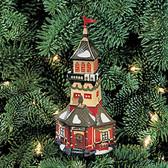 Department 56  ~  SANTA'S LOOKOUT TOWER ... Ornament  *  NIB