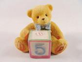 Cherished Teddies  ~  NUMBER 5  *  NIB