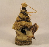 Westland  ~  BIRDHOUSE ORNAMENT w/Thatched Roof  *  NEW From Our Shop