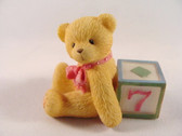 Cherished Teddies  ~  NUMBER 7  *  NIB